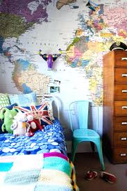 map of decor map wallpaper kids vintage world mural murals wallpapers kargo treasure map