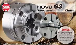 Nova G3 Woodturning Lathe Chuck System