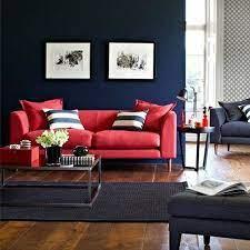 rote wohnzimmer
