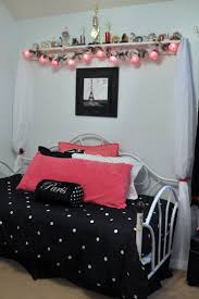 Teenage Girls Paris Bedroom Ideas | The bed. We used the day bed she already