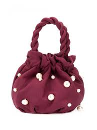Staud Bags Bucket Bags Pearl Grace Handbag Red