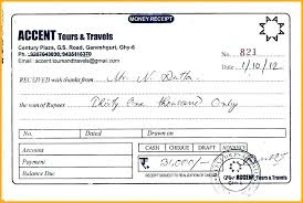 Money Receipt Format Custom Money Receipt Format In Word Travel Ticket Invoice Template Travels