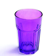 colored drinking glass colored highball