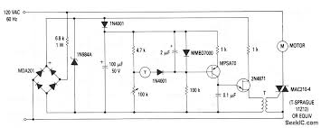 alternate motor speed control tachometer feedback circuit this circuit is an alternate to that shown in fig 8 17 but a lower parts count the same magnet coil tachometer shown in figs