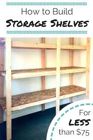 diy basement shelving modern ideas remodel wood grain and inside storage organizing