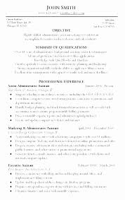 Administrative Assistant Objective Resume Custom Sample Resume For Administrative Assistant Position Best Of Sample