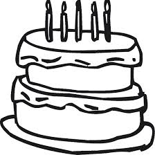 Small Picture Coloring Pages Birthday Cake Coloring Me