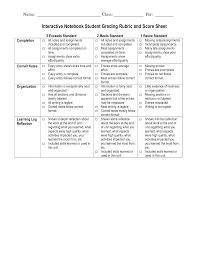 Notebook Sheet Template Interactive Notebook Templates Interactive Notebook Student