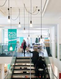 cafe lighting design. Office Inspirations - Plumen Designer Light Bulbs Cafe Lighting Design I