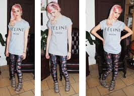 What To Wear With Patterned Leggings Magnificent Design Ideas