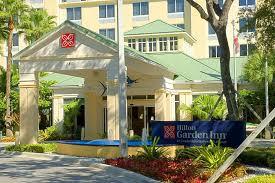 exterior hotel hilton garden inn fort lauderdale airport cruise port