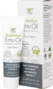 amazon all natural anti aging eye cream with australian emu retinol and vitamin e the ultimate anti aging eye cream for wrinkle reduction and under