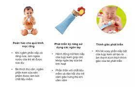 Đồ chơi cho bé sơ sinh 8 tháng tuổi Phát triển vận động tinh từ PEOPLE Nhật  Bản TB131