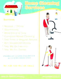 House Cleaning Services Flyers Pressure Washing Flyer Ideas Livrelibreration Co