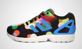 torsion zx flux. mens adidas zx flux torsion march print multicolor casual shoes core black/bright blue/ zx -
