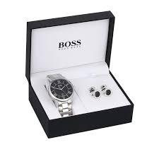 hugo boss watch set goldsmiths