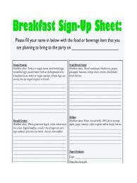 Food Sign Up Sheet Template Free Printable Potluck From This Looks