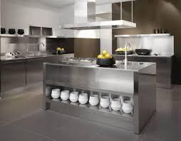 Stainless Steel Kitchen Designs Furniture Awesome Steel Kitchen Cabinets Inspiration Stainless