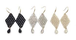 chandelier beaded handmade popular chandelier bead earrings chandelier bead module 13