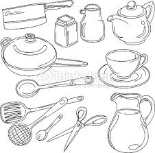 Kitchen Utensils Collection Vector Art Thinkstock
