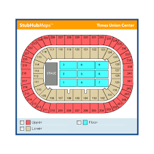 Times Union Center Seating Chart Basketball 56 Qualified Times Union Center Section 122