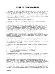 guide to essay planning essays paragraph