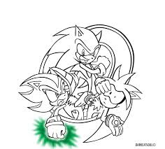 Small Picture Sonic The Hedgehog Coloring Pages Shadow coloring page
