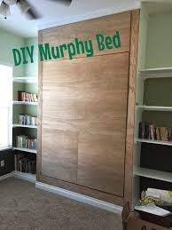 diy murphy bed wall bed