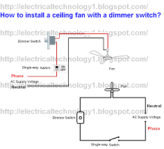 how to install ceiling fan a dimmer switch part 1