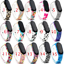 <b>Sport Strap for Xiaomi</b> Band 3 Silicone Accessories Bracelet For ...