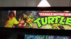 Ninja Turtles Arcade Cabinet Tmnt 2 Player Bar Top Arcade Cabinet Youtube