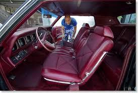 1971 lincoln continental mark iii geralds 1958 cadillac eldorado tayfun cleaning the interior
