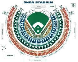 Citi Field Concert Seating Chart Shea Stadium Armchairgm Wiki Fandom Powered By Wikia