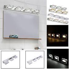 contemporary bathroom vanity lighting. Modern Bathroom Vanity LED Light Crystal Front Mirror Toilet Wall Lamp Fixtures Contemporary Lighting