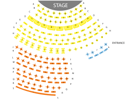 Ka Seating Chart David Copperfield Theater Online Charts Collection