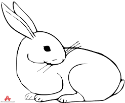outline of bunny drawn bunny outline 8 999 x 824 dumielauxepices net