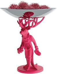KI01 FP <b>Alessi Блюдо декоративное Furbo</b>, розовое купить по ...