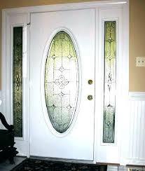 stained glass front door inserts front door stained glass inserts leaded glass door inserts front door oval glass inserts terrific front decorating