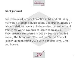 how works how works councils may affect economic performance contribution to
