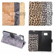 for iphone 7 iphone7 7 plus 7plus retro world map leopard wallet leather case card slot flip cover holder pouch case with 3 13 piece on