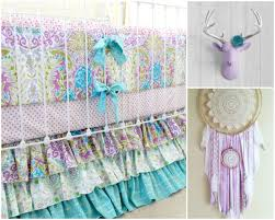 Dream Catcher Crib Bedding Nursery Beddings Hippie Nursery With Bohemian Style Baby Nursery 49