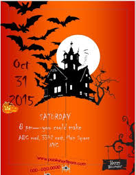 free halloween stationery templates 7 free halloween flyer templates stationery templates