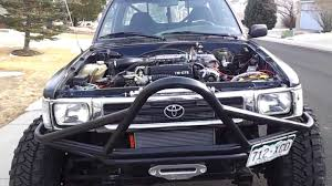 7MGTE swap into 93 Toyota Pickup - YouTube