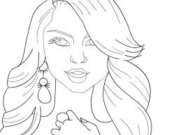 2 Zendaya Drawing Coloring Page For Free Download On Ayoqqorg
