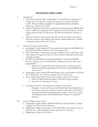 essay outline examples template essay outline examples