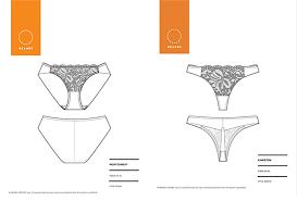 Lingerie Patterns Adorable Announcing Underwear Sewing Patterns Orange Lingerie