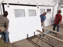 bypass sliding garage doors. Remove The Bolts From Brackets Bypass Sliding Garage Doors T