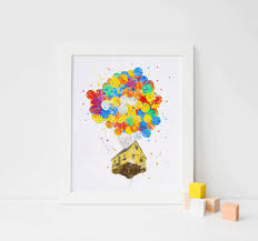Up House Balloons Disney Pixar Up Balloons Clipart Collection