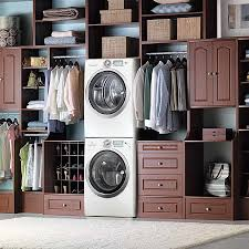 view in gallery contemporary master closet along with the laundry is a match made in heaven from