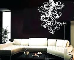 vine wall art modern wall decals vine wall art modern wall decals for living room living vine wall